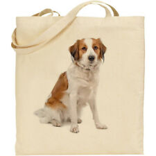 CS White Poodle dog breed cotton shopping//shoulder//beach//tote bag reusable-gift