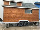Tiny house Wooden style 19' * 7.4' *13.7' Shipping to Long Beach Port 23000USD