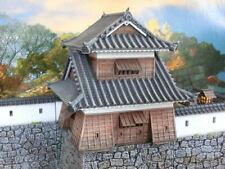 28mm Samurai Castle corner tower 3d alien worlds, wargaming tabletop terrain tes