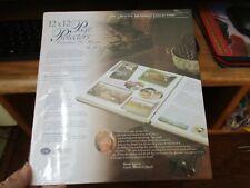 Creative Memories 12x12 Protectores de páginas 15 Hojas 2001 Estilo Antiguo Nuevo Nuevo en Paquete