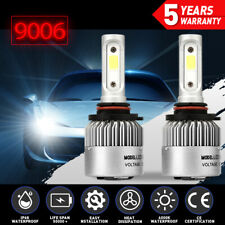 9006 HB4 LED Headlights Bulbs Kit Low Beam 2000W 300000LM 6000K White VS Xenon