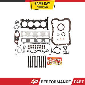 Full Gasket Set Head Bolts for 06-09 Hyundai Sonata Kia Optima Rondo 2.4 G4KC