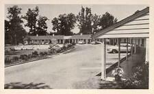 1950 WILMINGTON NC Riley Motel US Rt. 17 1950s cars postcard