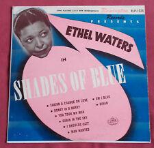 """ETHEL WATERS   25 CM 10"""" ORIG US SHADES OF BLUE"""