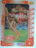 Sydney Swans AFL Footy Powers Card - Lance Franklin - Buddy Goal Bagger