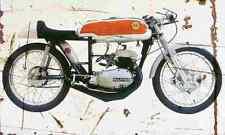 Bultaco 125 Aire 1961 Aged Vintage SIGN A3 LARGE Retro