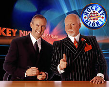 Don Cherry & Ron MacLean,  8x10 Color Photo