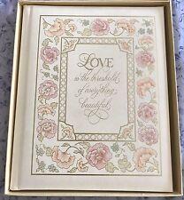 Vintage Hallmark Wedding Marriage Record Guest Book Photo Album #142-1 New W/Box