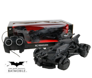 DC BATMAN DAWN OF JUSTICE 1:18 BATMOBILE RC RADIO REMOTE CONTROL VEHICLE TOY CAR