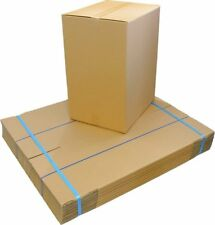 30 x 120L TEA CHEST BOX Moving Packing Boxes Cardboard Medium Removalist Cartons