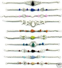 Semi Precious Peru Jewelry 5 Bracelets Peruvian Stone