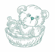 1046:  Machine Embroidery Designs - Especially For Baby III - Redwork