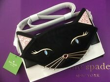 NWT Kate Spade New York JAZZ THINGS UP CAT CALI Clutch & Crossbody Sold Out