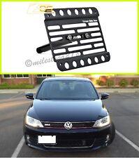 Multi Angle Tow Hook Mount License Plate Bracket VW Jetta GLI 12-16 NCS