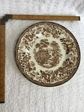 """Royal Staffordshire Tonquin Brown Plate 10"""" No Chips"""