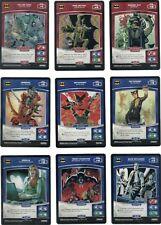 Panini MetaX Batman Cards 100 Non-Foil Complete Set DC Super-Heroes & Villains