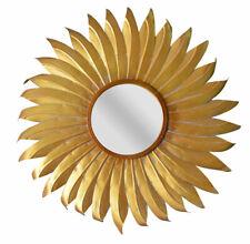 Mirror Baroque Wall Mirror Metal Mirror Vintage Star Deco Mirror Sun