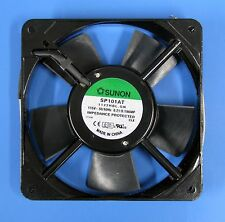 SUNON SP101AT-1122HBL.GN 119.5x119.5x25.5mm 18W 115VAC AC FAN AXIAL