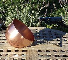 Ruffoni Copper 1.9 Qt Zabaglione w/ brass handle, Made in Italy