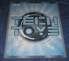 TECH TOYS Toys R Us Exclusive Display Sign (Sphero/Drones/Electronics) 3' x 2.5'