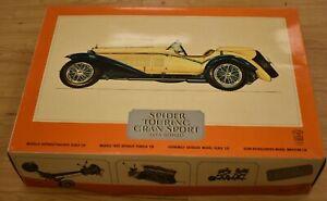 Spider Touring Gran Sport1932 Alfa Romeo 1:8 Scale Plastic Model Car Kit Pocher