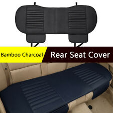 Bamboo Charcoal Long Stripe Rear Seat Cover Universal Car Seat Cushion US Stock