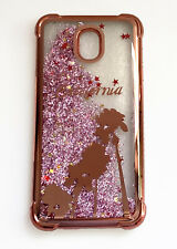 For Samsung Galaxy J3 2018 J3 Star J3 Orbit J3 Aura Liquid Glitter Phone Case