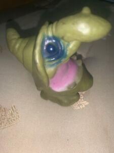 Green Squishy 1971 Mattel Wart Witch Troll WaxFilled Figure HALLOWEEN SQUISHIES