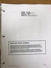 heavy equipment manuals books for link belt excavator for sale ebay rh ebay com 2650 Numbers Intex 2650 Sand Filter