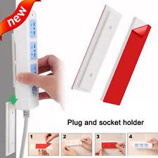 Magic Plug Holder Seamless Punch-free ABS Plug Sticker Wall Fixer Home Portable