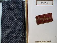 FRANCO BOMBANA - INCROCIO - collant moda tight fashion bianco/nero tg. 3°.