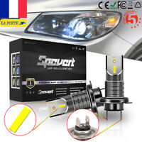 2 Ampoules H7 LED Phare Voiture 110W 28000LM Feux Mini Remplacer HID Xénon Lampe