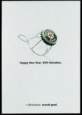 cartolina pubblicitaria PROMOCARD n.4134 HEINEKEN SOUNDS GOOD BIRRA BEER