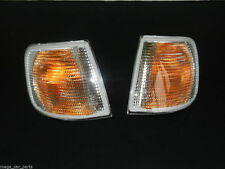 FORD SIERRA AND COSWORTH 1987-1993 FRONT INDICATOR LEFT + RIGHT SET PAIR CLEAR