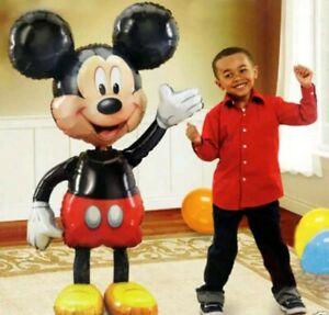 GENUINE Large Mickey Mouse Airwalker Helium Balloon - BRAND NEW