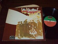 Led Zeppelin,Led Zeppelin II,1977 Atlantic Press.VG+ To EX Cond.