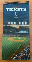 2016 MLB DETROIT TIGERS COMPLETE BASEBALL FOUR TICKET BOOK - 324 TOTAL TICKETS