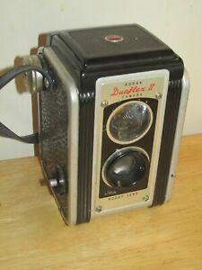 Vintage Kodak Duaflex-II Camera w/Kodet Lens - EXC!