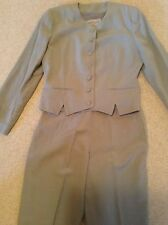 Ladies Linen Trouser Suit size Eur 38(10)