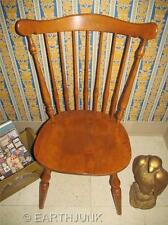 Ethan Allen Governor Carver Chair Heirloom Nutmeg Maple Wood 10 6081 Made in USA