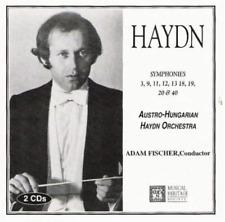 Haydn-`Symphonies 3,9,11,12,13,18,19,20 & 40-Adam Fischer, Conductor` CD NEW