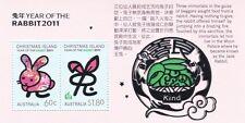 Christmas Island New Year - Rabbit 2011 SG MS 699