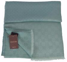 NEW Gucci 367224 GG Guccissima Diamante Modal Wool Silk Scarf Muffler