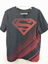 Gap Junk Food Food Girls Superman Top M 8-9  Cut Out Short Sleeve Cotton 918