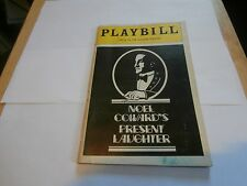 Playbill Present Laughter 1982 Circle in the Square Theatre George C Scott