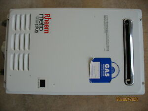 Rheem Metro Plus 20 Natural Gas Continuous Hot Water System - As New