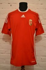 HUNGARY HOME FOOTBALL SHIRT 2008/2009 SOCCER JERSEY ADIDAS MENS L PLAYER ISSUE