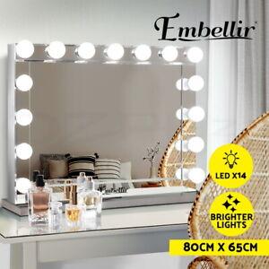 Embellir Light Bulb Mirror Makeup LED Lights Hollywood Vanity Dressing Table