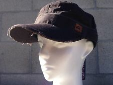 RARE🔥 Quiksilver Military Army Rebel Hat Cap Beach Pool Unisex L/XL Large/XL
