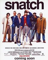 """~~ GUY RITCHIE Authentic Hand-Signed """"SNATCH"""" 8x10 Photo~~"""